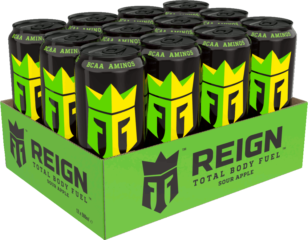 Reign Energy   Apple Sour   Energiajuoma   50cl   12-pack